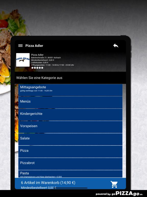 Pizza-Adler Aichach screenshot 8