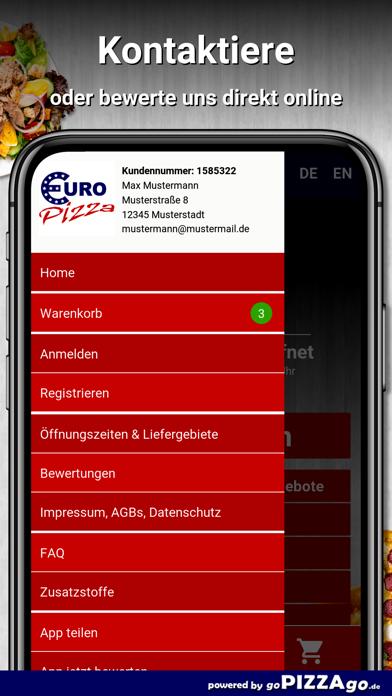 Euro Pizza Hanau screenshot 3