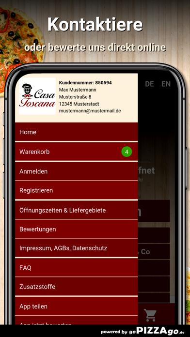Casa Toscana Oldenburg screenshot 3