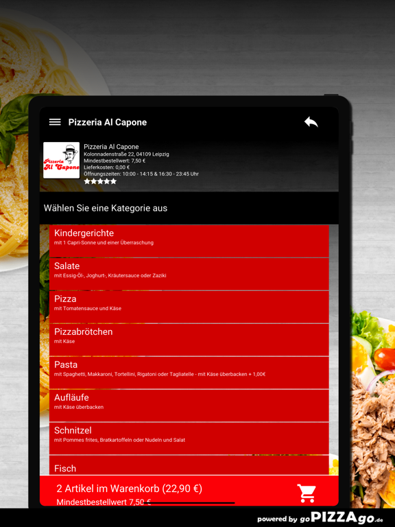 Pizzeria Al Capone Leipzig screenshot 8