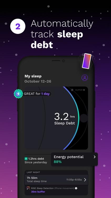 Rise: Sleep & Energy Tracker screenshot-3