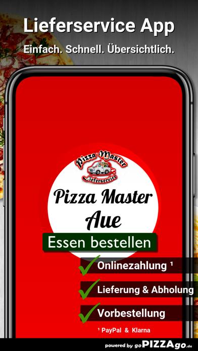 Pizza Master Aue screenshot 1