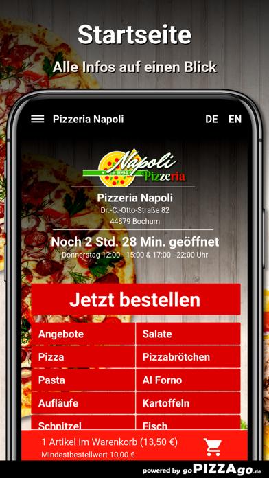 Pizzeria Napoli Bochum screenshot 2