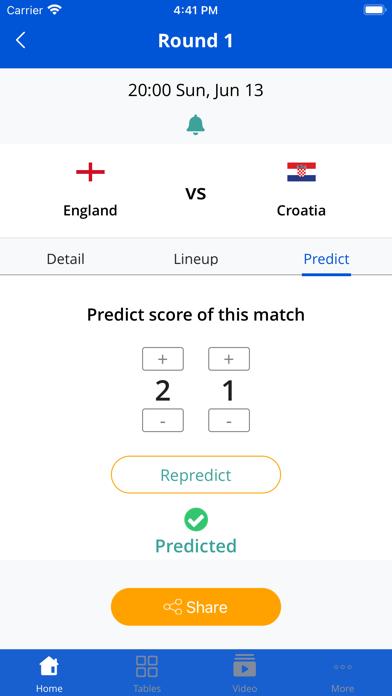 Euro Football App screenshot 2