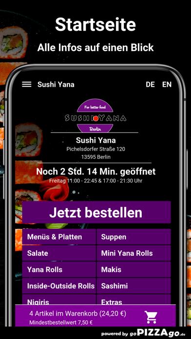 Sushi Yana Berlin screenshot 2