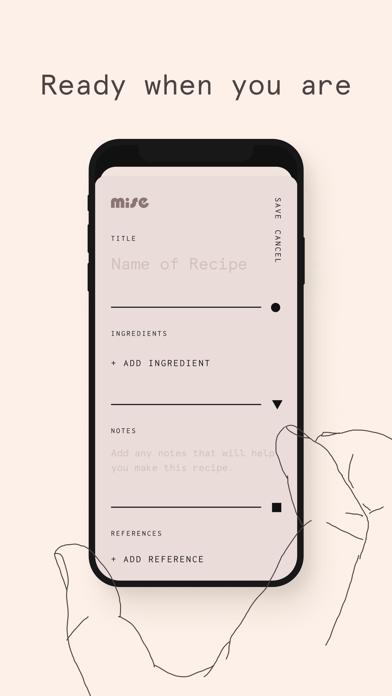 Screen Shot Mise: A minimalist recipe box 7
