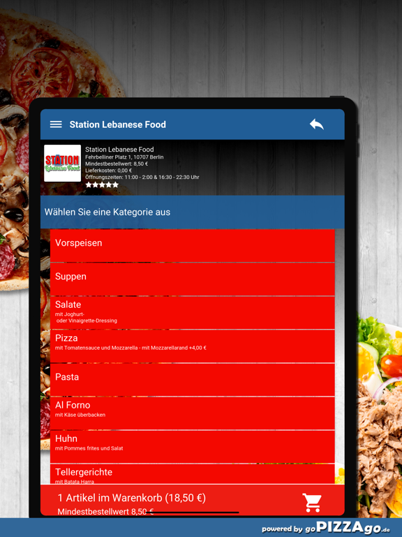 Station Lebanese Food Berlin screenshot 8