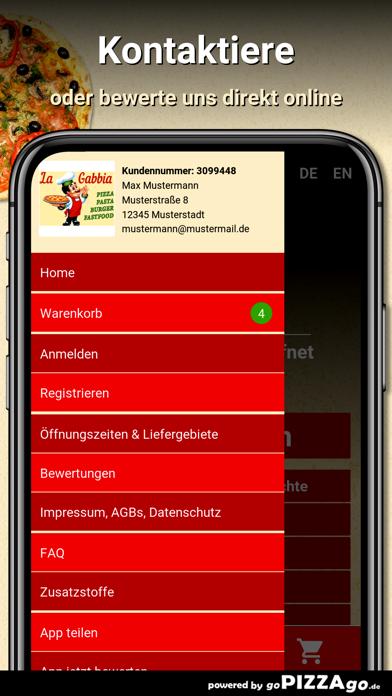 Pizza La Gabbia Berlin screenshot 3