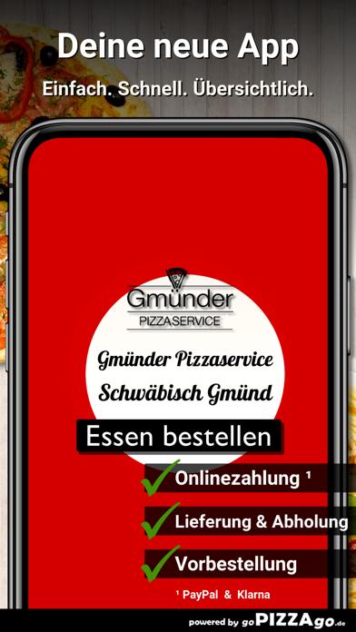 Gmünder Pizzaservice Schwäbisc screenshot 1