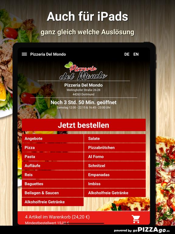 Pizzeria Del Mondo Dortmund screenshot 7