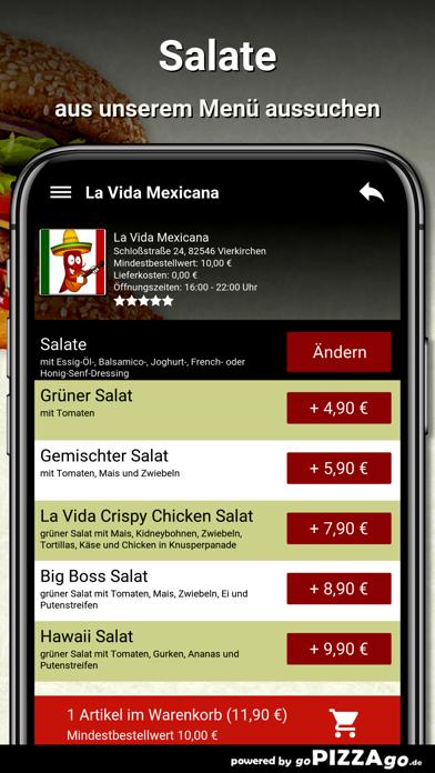 La Vida Mexicana Vierkirchen screenshot 2