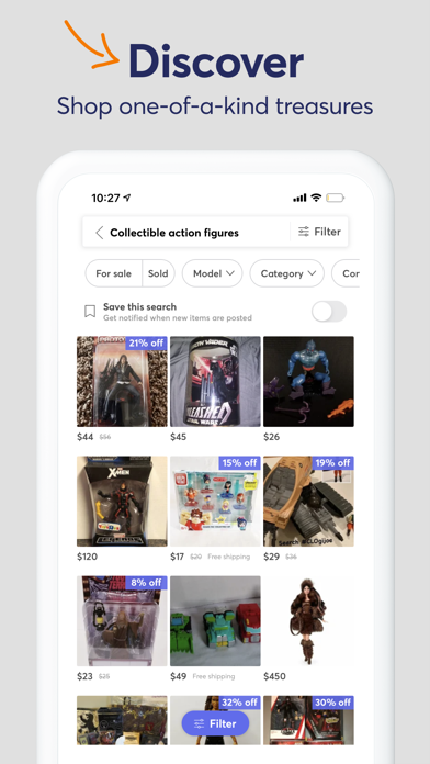 messages.download Mercari: Your Marketplace software
