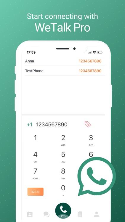 WeTalk Pro - WiFi Calls & Text