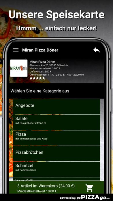 Miran Pizza Döner Gütersloh screenshot 2