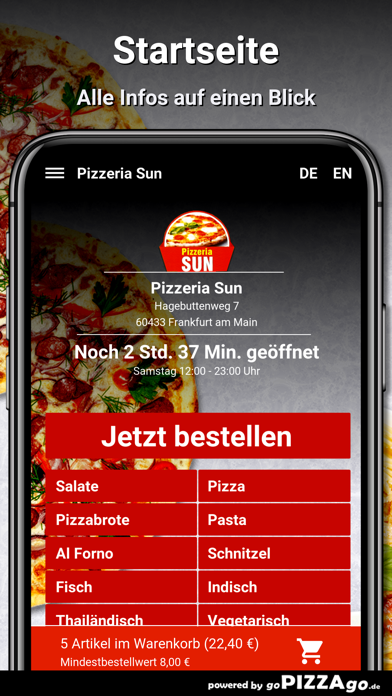 Pizzeria Sun Frankfurt am Main screenshot 2