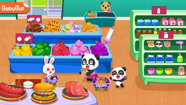 Baby Panda's Supermarket screenshot-0