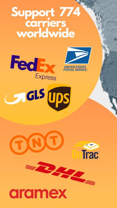 荷物配達追跡公式アプリ : 郵便番号検索のスクリーンショット1