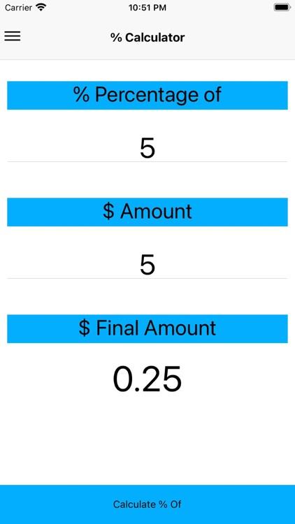 A discount calculator screenshot-7