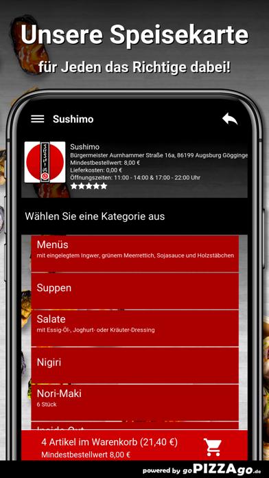 Sushimo Augsburg Göggingen screenshot 5