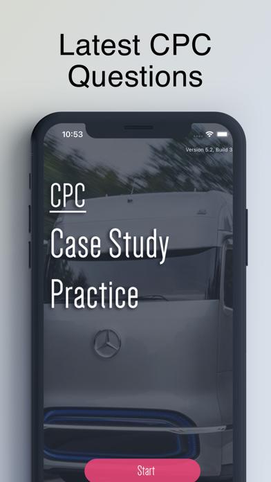 CPC Case Study Test UK screenshot 1