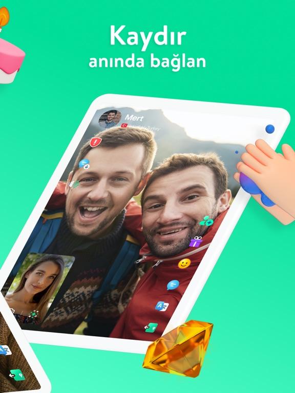 Azar - Video Chat, Keşfet ipad ekran görüntüleri