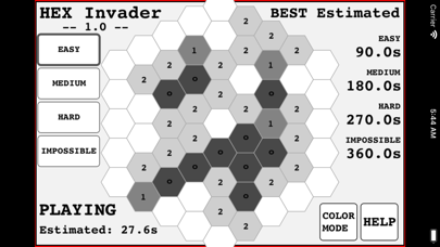 Hexagon Invader screenshot 2