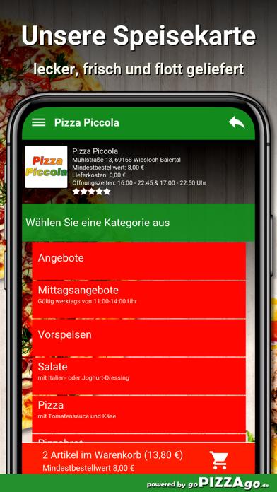 Piccola Wiesloch Baiertal screenshot 4