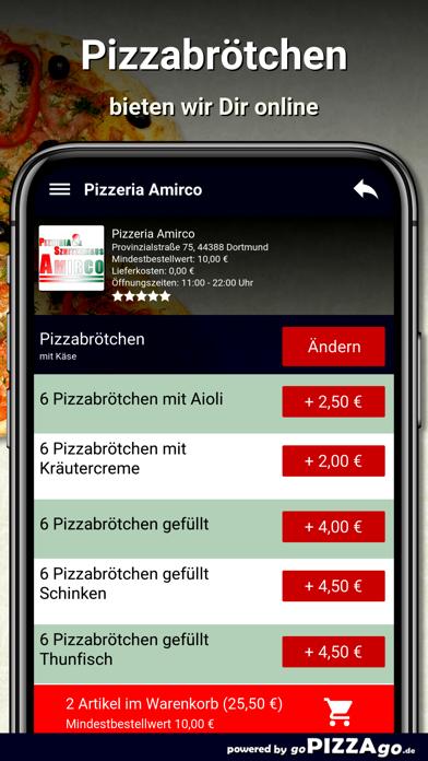 Pizzeria Amirco Dortmund screenshot 5