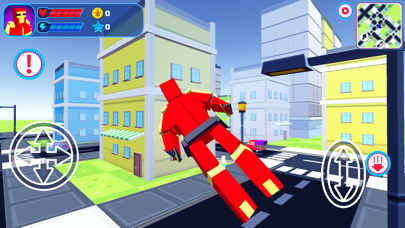 Pixel Superhero Block City War紹介画像1