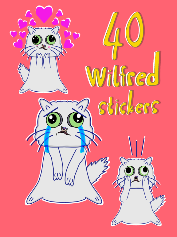 Wilfred Warrior Stickers screenshot 9