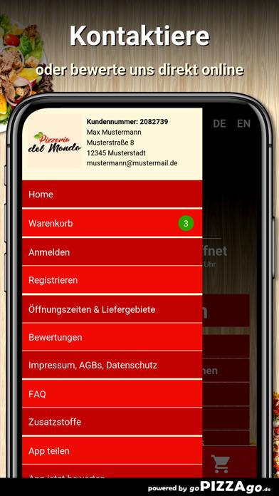 Pizzeria Del Mondo Dortmund screenshot 3