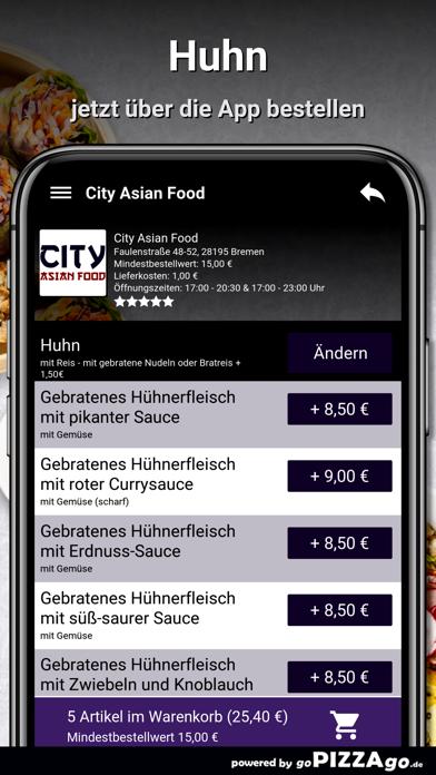 City Asian Food Bremen screenshot 6