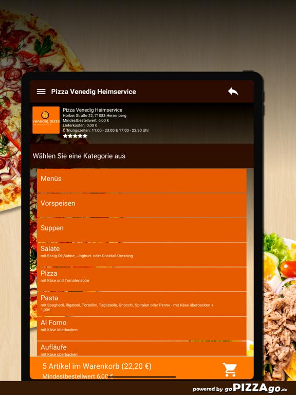 Pizza-Venedig Herrenberg screenshot 8
