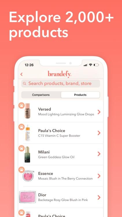 Brandefy: Affordable Beauty screenshot-3