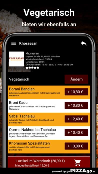 Khorassan München screenshot 6