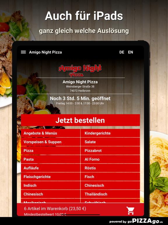 Amigo Night Pizza Heilbronn screenshot 7