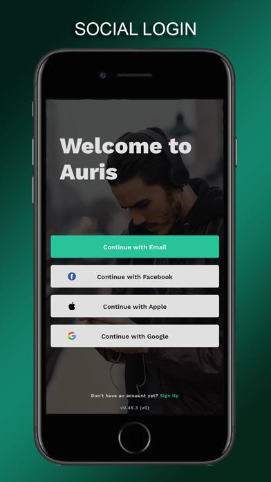 Auris APP screenshot 1