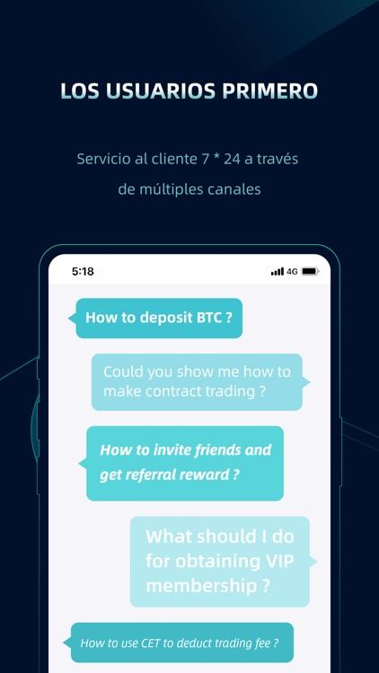 CoinEx-Cryptocurrency Exchange screenshot-5