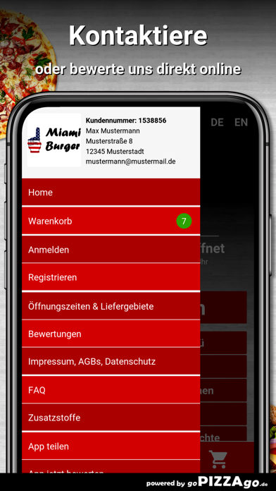 Miami-Burger Augsburg screenshot 3