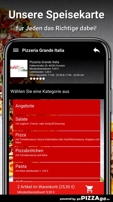 Pizzeria Grande Italia Dorsten screenshot 4
