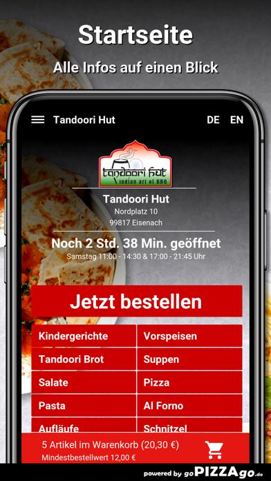 Tandoori Hut Eisenach screenshot 2