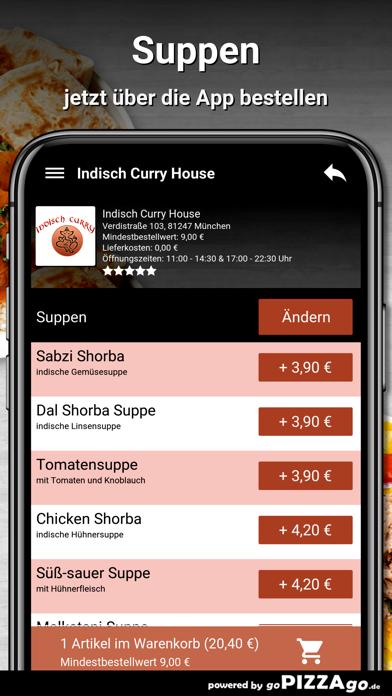 Indisch Curry House München screenshot 5