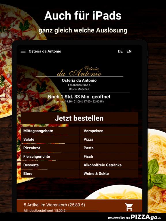 Osteria da Antonio München screenshot 7