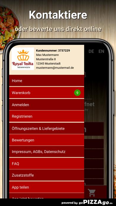 Royal India Memmingen screenshot 3