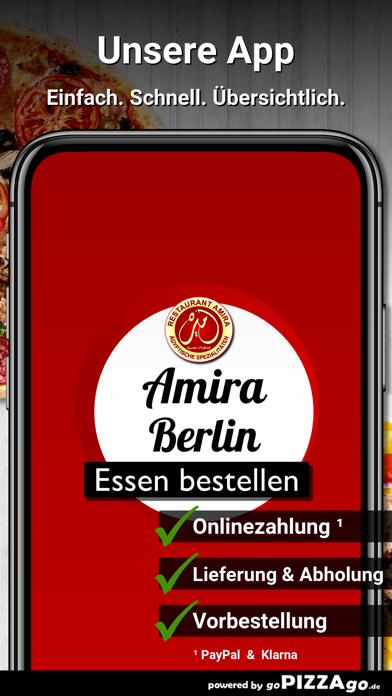 Restaurant Amira Berlin screenshot 1
