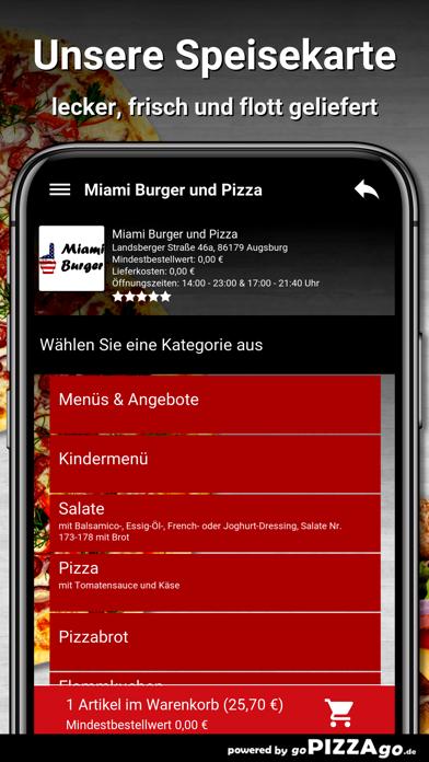 Miami-Burger Augsburg screenshot 4