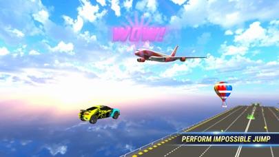 SuperHero Ramp Car Stunt 3D screenshot 2