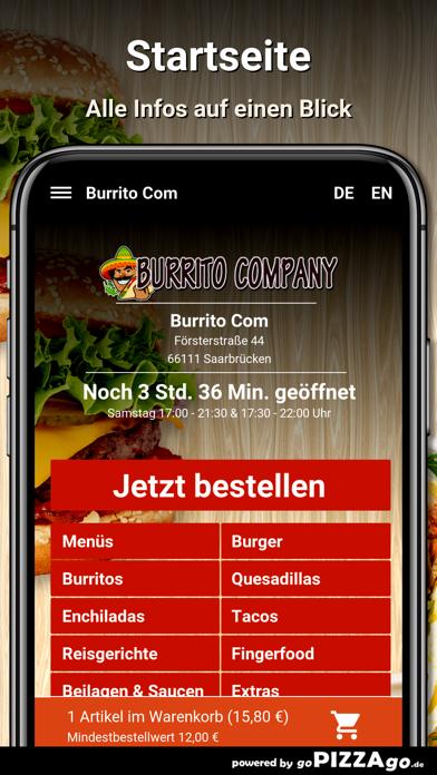 Burrito Com Saarbrücken screenshot 2