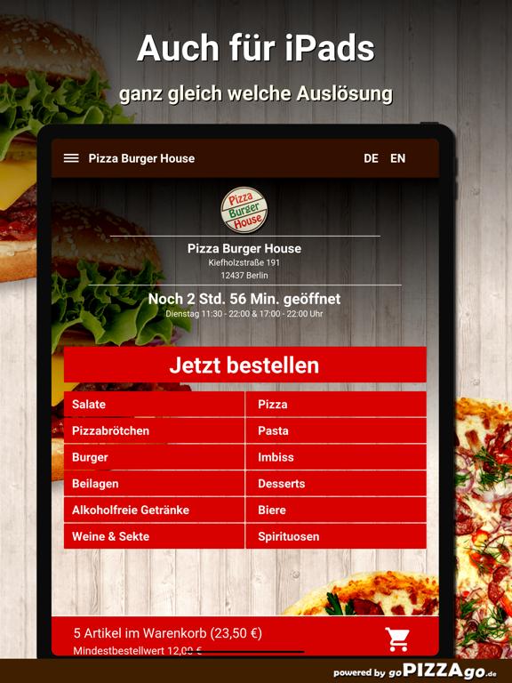 Pizza Burger House Berlin screenshot 7