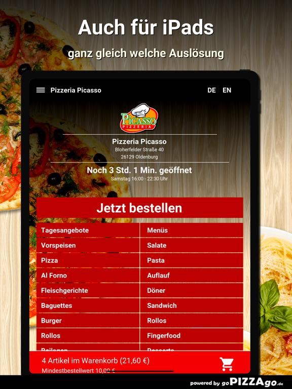 Pizzeria Picasso Oldenburg screenshot 7